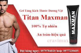 gel titan tăng kích thước dương vật gel titan maxman pinterest
