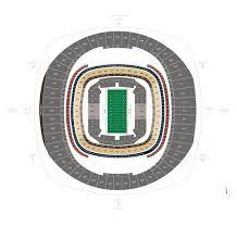 stadium floor plan football seating charts mercedes benz superdome