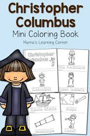 christopher columbus coloring pages mamas learning corner
