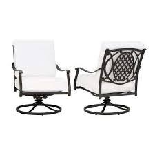 Metal Rocking Patio Chairs Hton Bay Swivel Metal Patio Furniture Patio Chairs