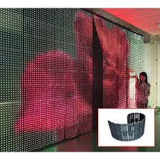 Curtain Led Display Creative Led Screen Manufacturer From Mumbai