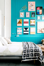 wallpaper accent wall ideas bedroom home attractive
