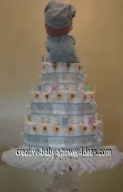 diaper cake how to pictures