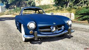 mercedes benz 300sl gullwing 1955