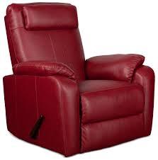 sparta rocker recliner red value city furniture