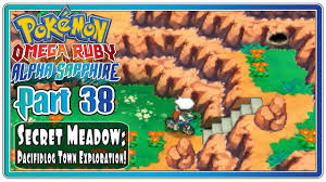 Omega Ruby Pokemon Omega Ruby And Alpha Sapphire Part 38 Secret Meadow
