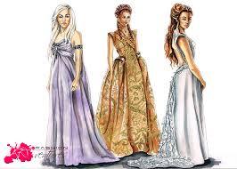 game of thrones wedding dresses by fashionartventures on deviantart