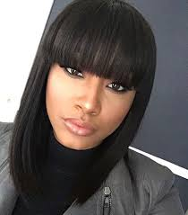 layered hairstyles with bangs for african americans that hairs thinning out perfect african american hairstyles with bangs ideas american