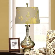 Shabby Chic Lighting by Chic Lamps And Silver Color Glass Fixture