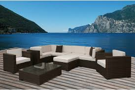 Patio Furniture In Miami by 25 Awesome Modern Brown All Weather Outdoor Patio Sectionals