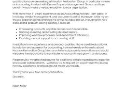 cover letter accounting accounting finance cover letter samples