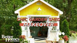 shed makeovers before and after chic shed makeover youtube