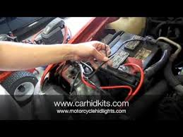jeep wrangler hid kit hid kit relay install
