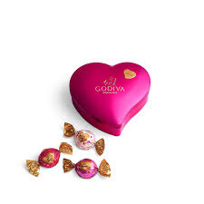 12 pc valentine u0027s day keepsake heart tin godiva