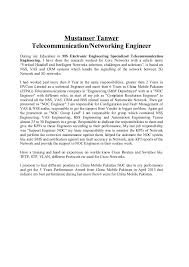 Rf Engineer Resume Sample by Optical Transmission Engineer Resume Contegri Com