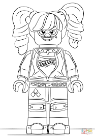 lego harley quinn coloring page at coloring pages eson me