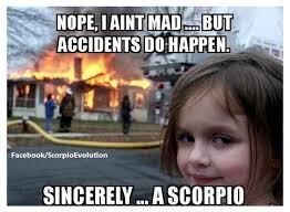 Zodiac Memes - astrology on twitter the signs as cheesy zodiac memes scorpio