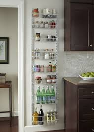 Best Spice Racks For Kitchen Cabinets Amazon Com Gracelove Over The Door Spice Rack Wall Mount Pantry