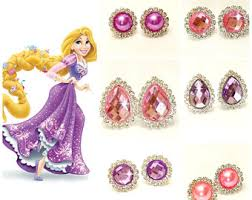 clip on earrings for kids princess earrings princess earrings