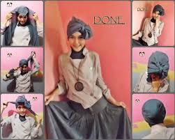 tutorial turban sederhana contoh tutorial hijab turban untuk lebaran just for share