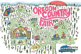 Portland State University Map by Here U0027s An Annotated Oregon Country Fair Map Willamette Week