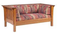 Stickley Mission Sofa by Arts Crafts Mission Style Living Room Sofas Loveseats U0026 Chaises