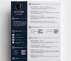 creative free resume templates jospar