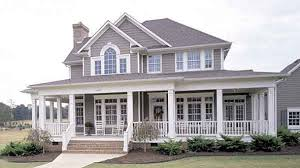 House Plans Country Country Homes With Porches Beautiful 16 Country Home Plans And