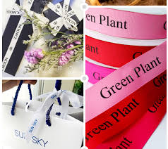printed ribbons for favors 100 yard roll personalized ribbon custom logo wedding favors