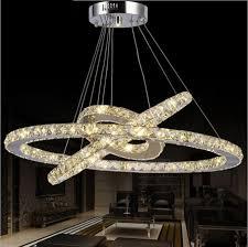 Buy Chandelier Crystals Aliexpress Com Buy Diy Hanging Round Ring Crystal Chandelier