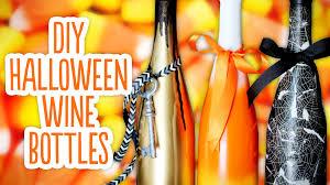 wine bottle halloween costume diy halloween wine bottles u0026 spooky background youtube