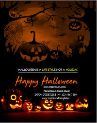 ms word halloween party flyer templates word u0026 excel templates