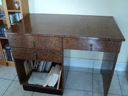 donne bureau recyclage objet récupe objet donne bureau style bois de loupe à