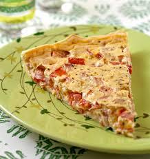 recette de cuisine salé tarte tomate thon moutarde tarte salée estivale les meilleures
