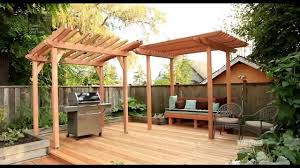How To Build A Pergola by Diy Project Raised Deck How To With Sarah Youtube