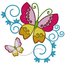 butterflies embroidery designs free machine embroidery designs at
