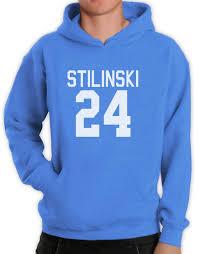 halloween fleece stilinski 24 hoodie stiles teen wolf laccrosse halloween costume