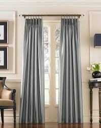 French Pleated Drapes 144 Inch Long Length Curtains