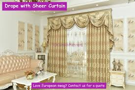 Crystal Beaded Curtains Australia by Teal Blue Mocha Gold Beige Swags Pelmets Valance Drapes Sheer