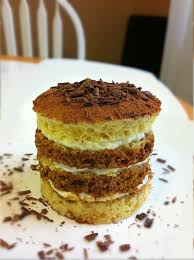 one minute microwave tiramisu mug cake with 2 12g net carbs each