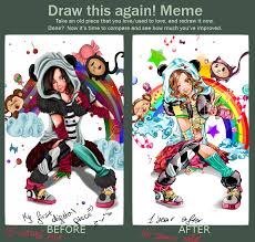 Draw It Again Meme - draw this again meme by fcnart on deviantart