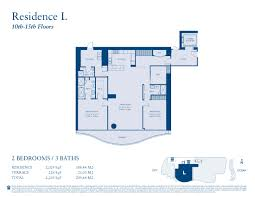 chateau floor plans chateau beach residences sunny isles