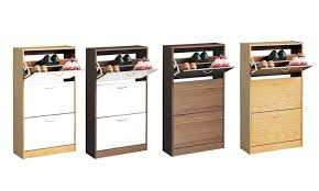 Shoe Cabinet 3 Drawer Shoe Cabinet For 39 98 Groupon Goods
