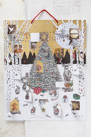 glowing morning advent calendar anthropologie