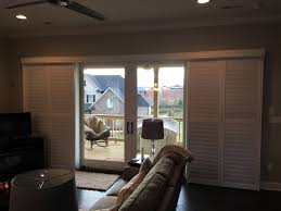 Front Door Window Covering Ideas by Sliding Glass Doors Are Easy To Cover With Our Sliding Plantation