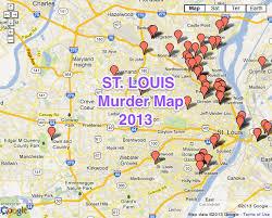 map st louis st louis area murder map arch city homes