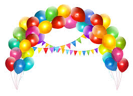 free balloons transparent balloon arch with decoration clipart gallery