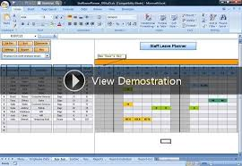 employee vacation excel manage employee vacation with this excel