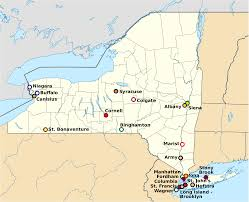 Stony Brook Map Map Of Colleges In New York New York Map
