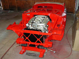 Sho Motor norman rest s 1956 healey 100 with ford sho v6 engine